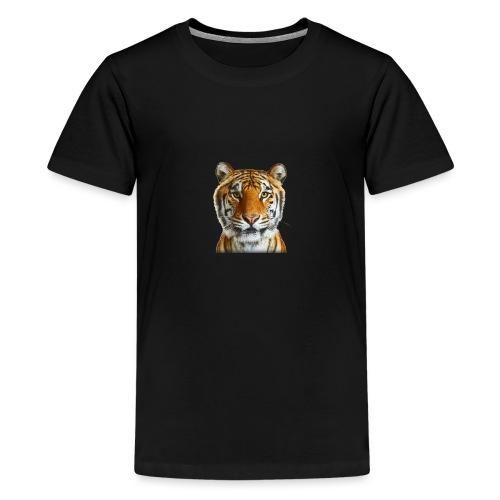 tiger wild animal - Koszulka młodzieżowa Premium