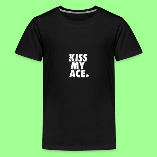 KISS MY ACE - Koszulka młodzieżowa Premium
