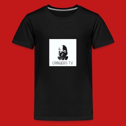 Original Cringers Tv Logga - Premium-T-shirt tonåring