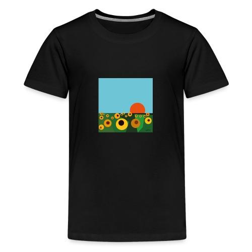 Tournesol - T-shirt Premium Ado