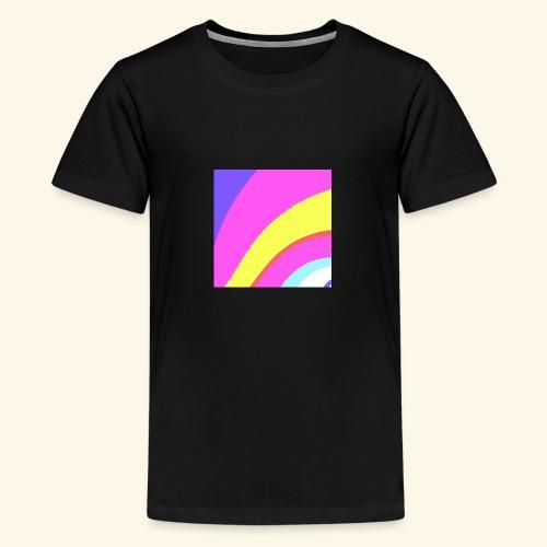 Curva colorata - Maglietta Premium per ragazzi