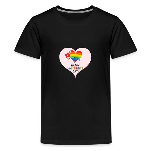 Valentine - Gayday - Teenager Premium T-Shirt