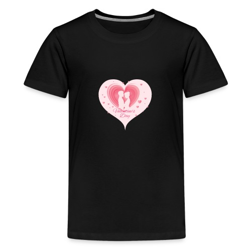 Valentinstag - Teenager Premium T-Shirt