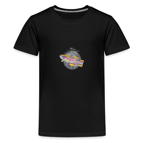 Space Fish Bluecontest - T-shirt Premium Ado