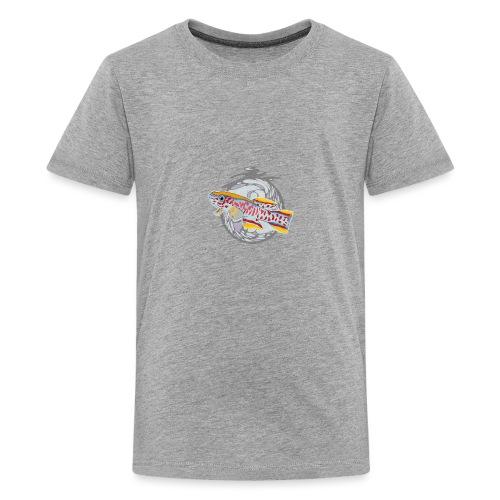 Space Fish Bluecontest - T-shirt Premium Ado