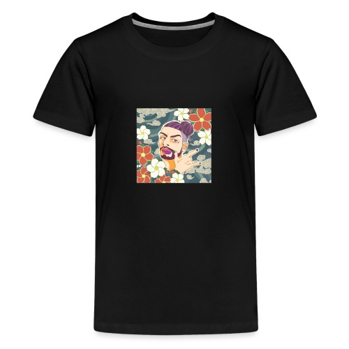 Hanzo Reiza - Teenage Premium T-Shirt