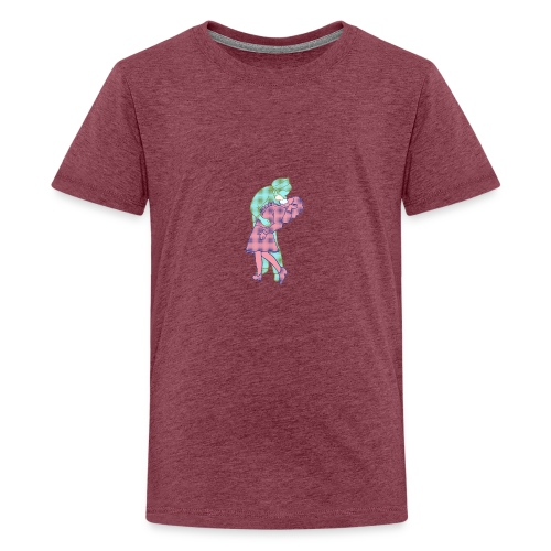 Amor coronavirus - Camiseta premium adolescente