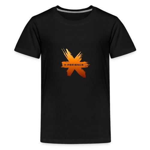 X-Perience Orange Logo - Teenager Premium T-Shirt