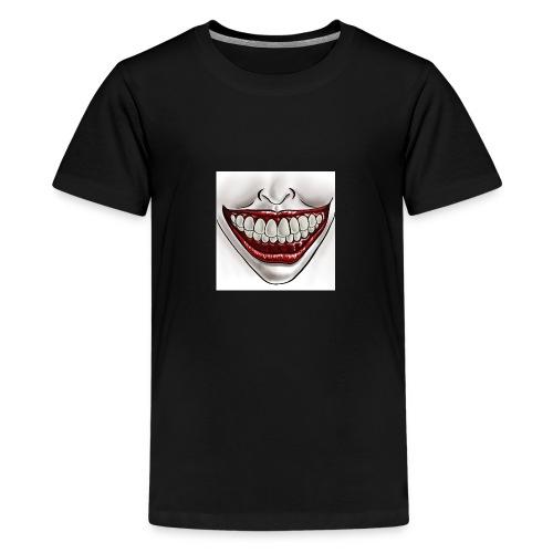 Smile Maske - Teenager Premium T-Shirt