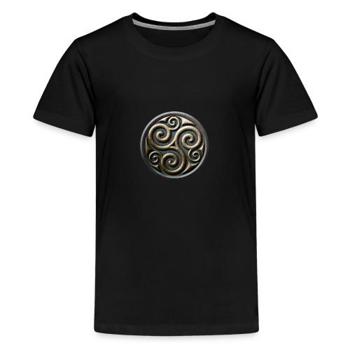 Celtic trisquel - Teenage Premium T-Shirt