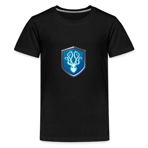 catfux Clan Shield Kaffu - Teenager Premium T-Shirt