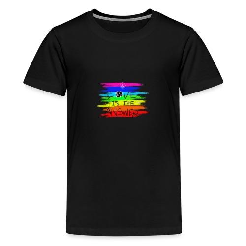 LoveIsTheAnswer MaitriYoga - T-shirt Premium Ado