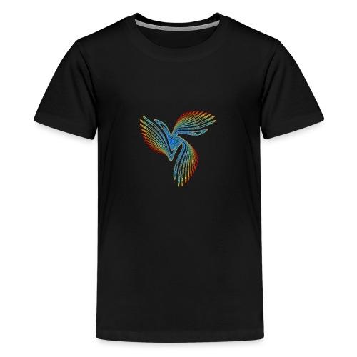 Vogel Bird of Paradise Cockatoo Icarus Chaos 2944j - Teenage Premium T-Shirt