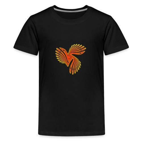 Vogel Paradiesvogel Kakadu Ikarus Chaos 4314aut - Teenager Premium T-Shirt