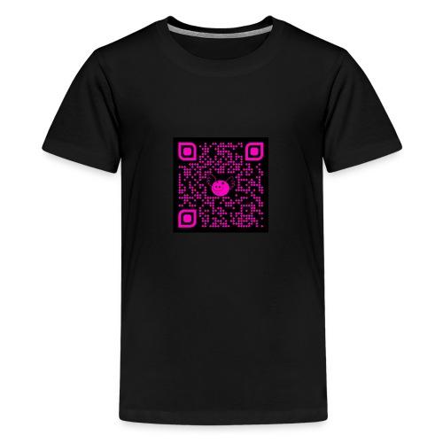 QR Pigs Can Fly - Camiseta premium adolescente