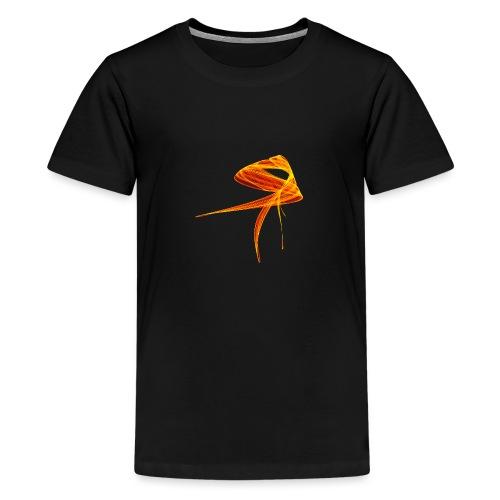 Aquarell Kunstgrafik Gemälde Bild Chaos 1307aut - Teenager Premium T-Shirt