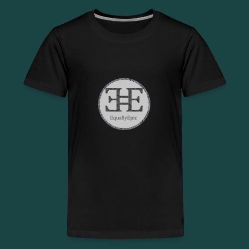 Black Male Tee 2 long - Teenage Premium T-Shirt