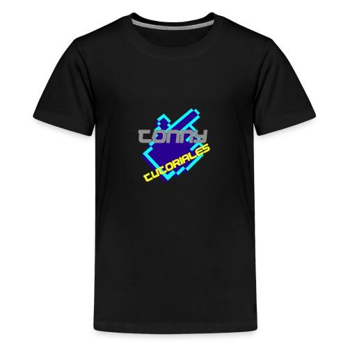 TonnyTutoriales logo png - Teenage Premium T-Shirt
