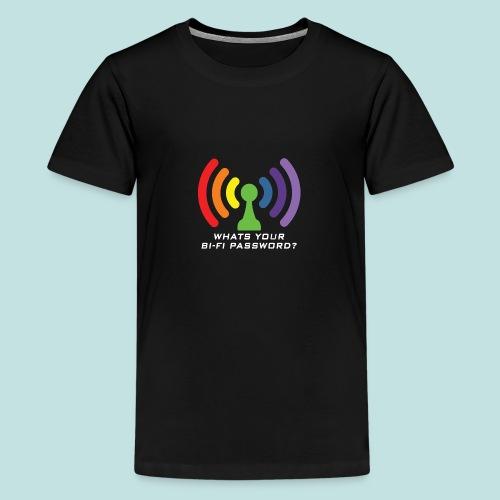 Bi-Fi - Teenage Premium T-Shirt