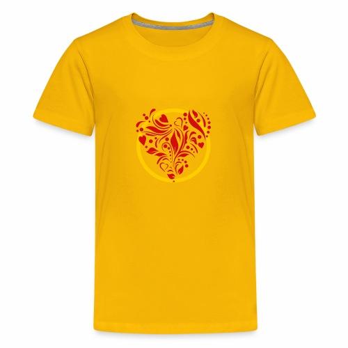 Herzemblem - Teenager Premium T-Shirt