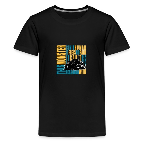 This monster - Koszulka młodzieżowa Premium