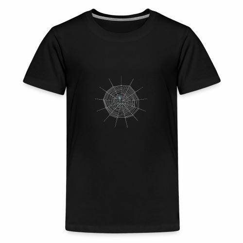 Spinnennetz - Teenager Premium T-Shirt