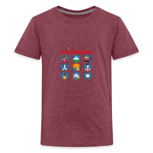 Switzerland - Teenager Premium T-Shirt