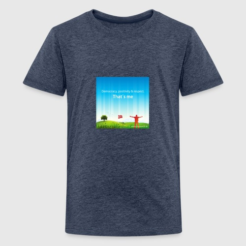 Rolling hills tshirt - Teenager premium T-shirt