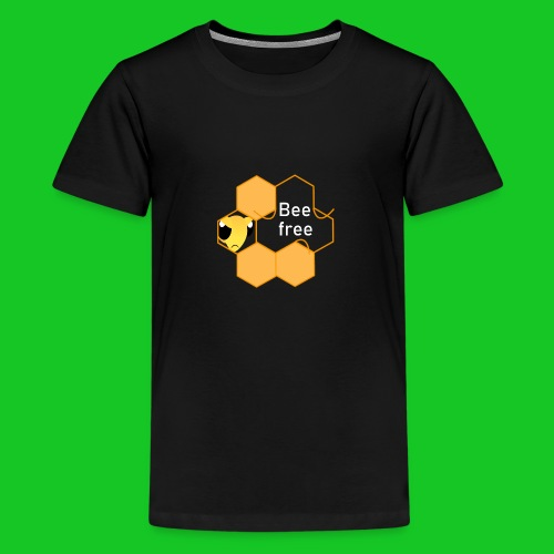 Bee Free - Teenager Premium T-shirt