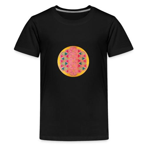 Blume des Lebens - Teenager Premium T-Shirt