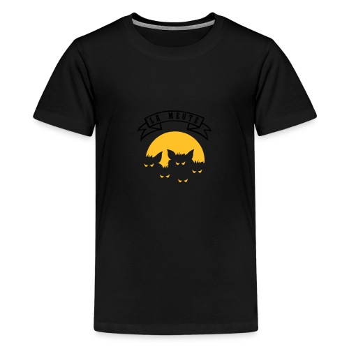 la meute - T-shirt Premium Ado