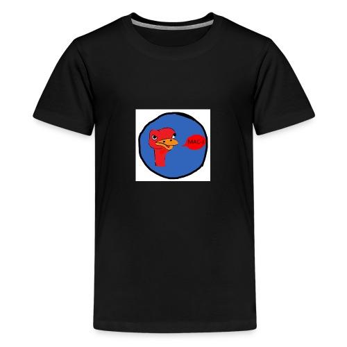de struisvogel - Teenager Premium T-shirt