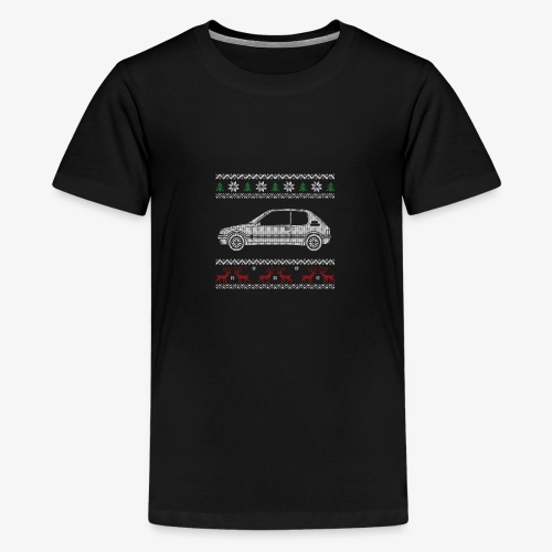 205 gti pull tricot noel - T-shirt Premium Ado