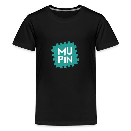 Logo Mupin quadrato - Maglietta Premium per ragazzi
