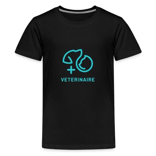 Vétérinaire, un métier qui a son importance - T-shirt Premium Ado