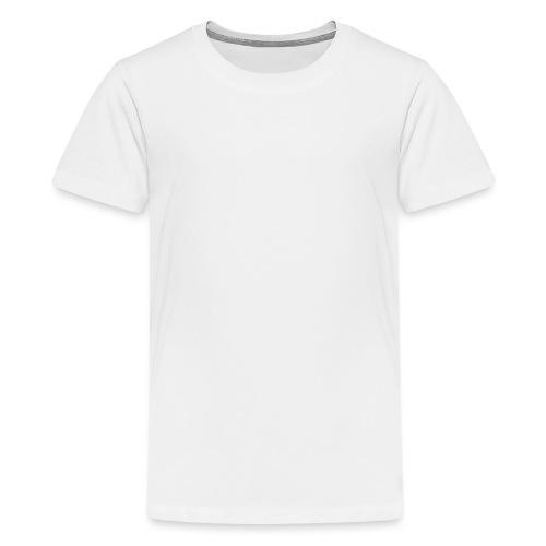logo_alumadein_vecto_blan - T-shirt Premium Ado