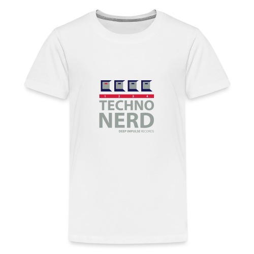 Techno Nerd - Teenage Premium T-Shirt