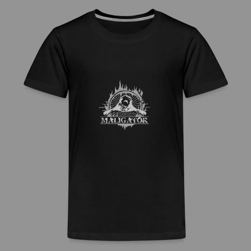 Maligator - Belgian shepherd - Malinois - Teenage Premium T-Shirt