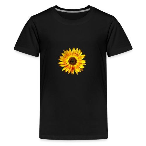Sonnenblume gelb Sommer - Teenager Premium T-Shirt