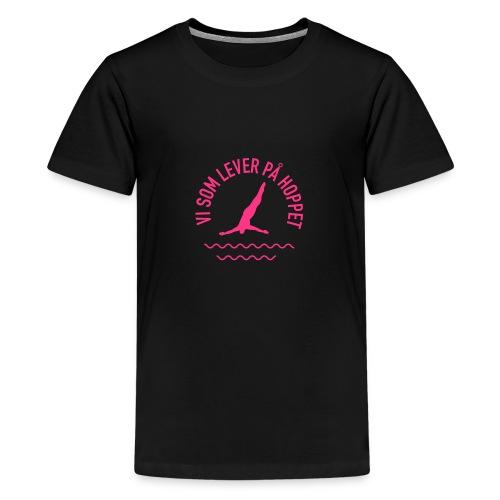 Vi som lever på hoppet M - Premium-T-shirt tonåring