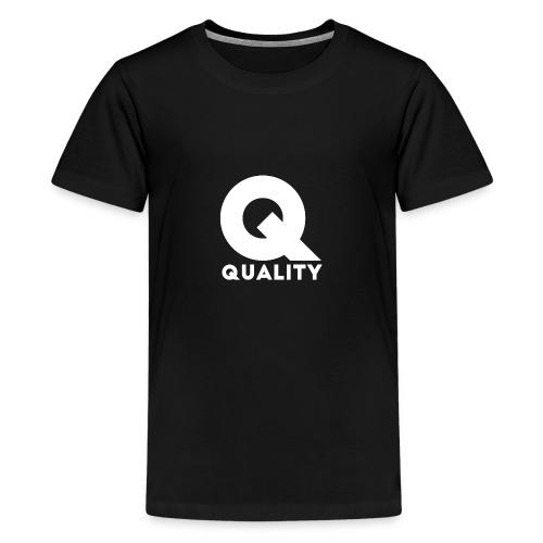 Quality White - Camiseta premium adolescente