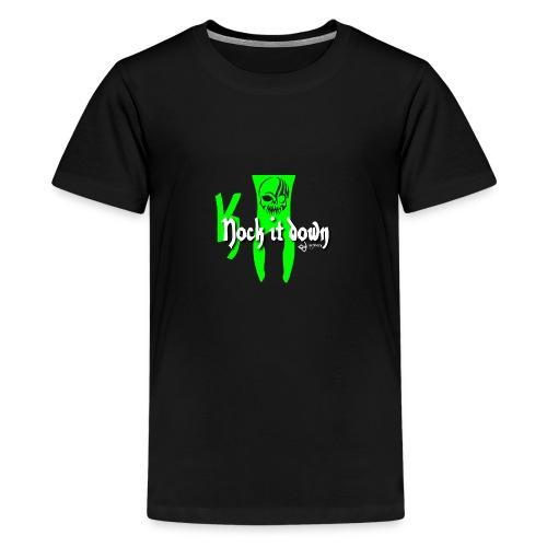 Nock it down - Teenager Premium T-Shirt