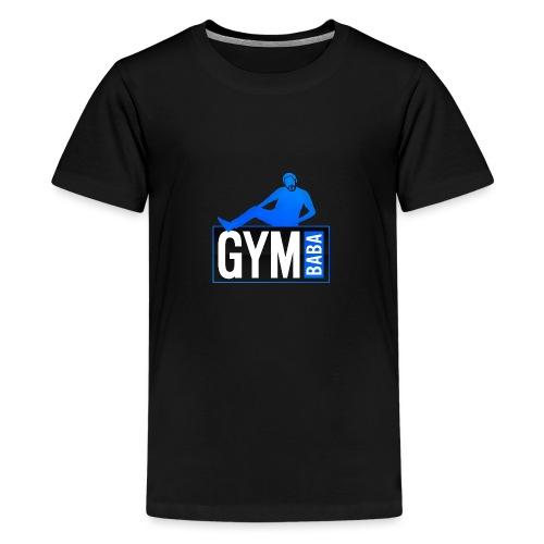 Gym baba 2 bleu - T-shirt Premium Ado