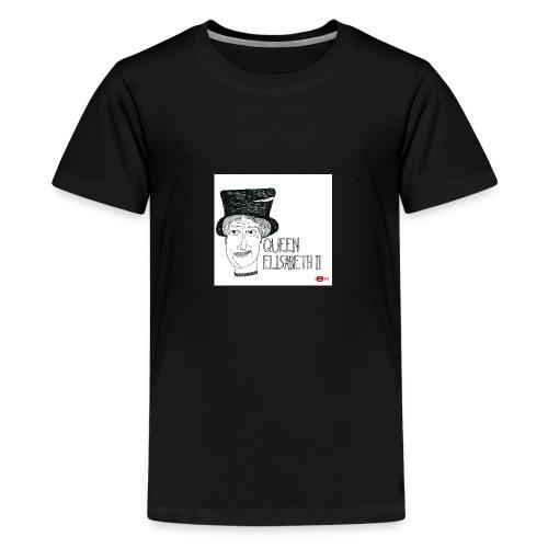 queen elisabeth ii - Teenager Premium T-shirt