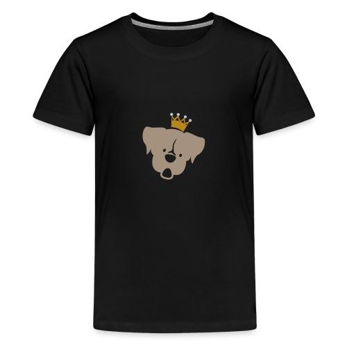 Prinz Poldi braun - Teenager Premium T-Shirt
