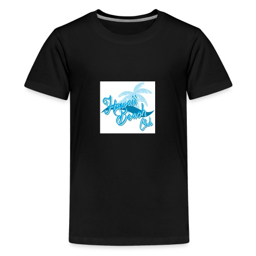 Hawaii Beach Club - Teenage Premium T-Shirt