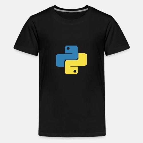 Python Pixelart - Teenager Premium T-Shirt