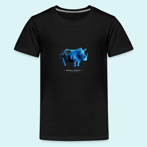 Rhino Blues - Teenage Premium T-Shirt