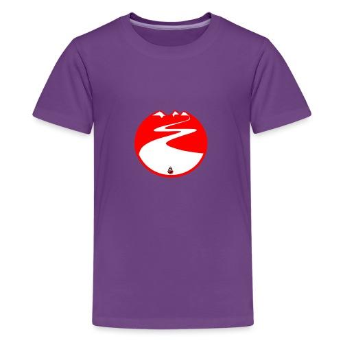Montagne rouge - T-shirt Premium Ado