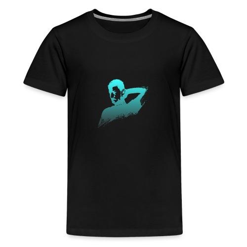 illustration zoom dario - T-shirt Premium Ado